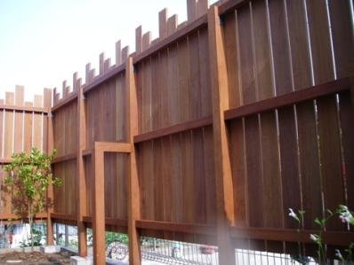 現場の様子/目隠しフェンス