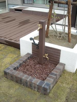 ディーズガーデン/立水栓