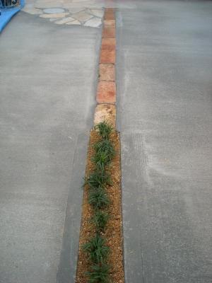 レンガ&タマリュウ/駐車場
