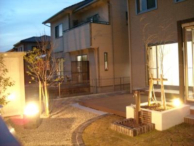 お庭/ライトアップ