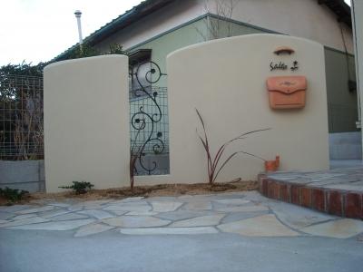 門壁/塗り仕上げ