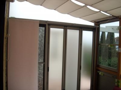 ガーデンルーム/すりガラス調