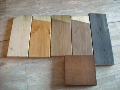 ジーランド店内/木製品サンプル