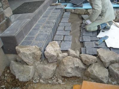 自然石/石畳風