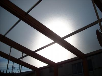 ココマ屋根/クリアマット