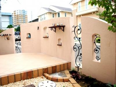 宮城県仙台市S様/たくさんのディーズガーデンアイテムを取り入れたエクステリア/エクステリア&ガーデンのジーランド