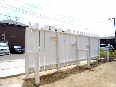 フェンス(お庭側)