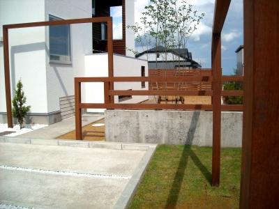 宮城県仙台市/ハードウッドのフレーム/エクステリア&ガーデンのジーランド