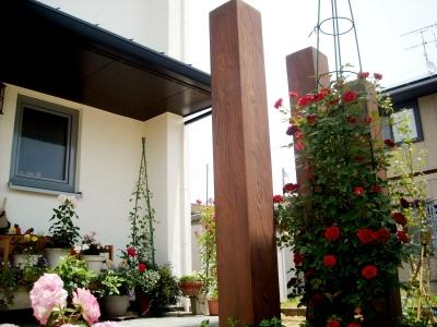 宮城県角田市/ディーズガーデンの「ティンバー」/エクステリア&ガーデンのジーランド