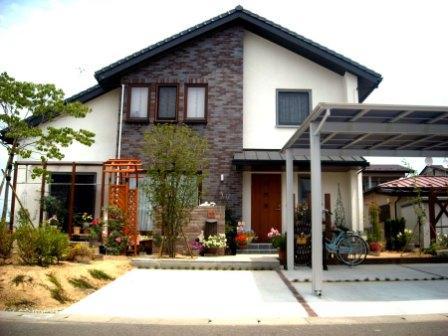 宮城県角田市/暮らしを彩るキュートなエクステリア/エクステリア&ガーデンのジーランド