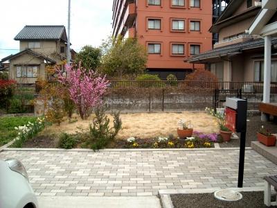 宮城県岩沼市/以前のお庭の様子/エクステリア&ガーデンのジーランド