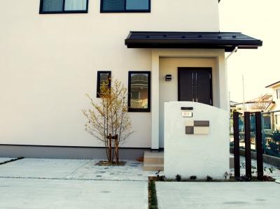 宮城県仙台市/シックな印象のシンプルモダン・エクステリア/ガーデン&エクステリアのジーランド