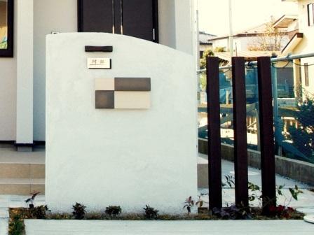 宮城県仙台市/シック&シンプルな門壁/エクステリア&ガーデンのジーランド
