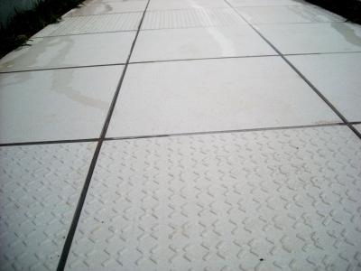 宮城県石巻市/スロープのタイル/ガーデン&エクステリアのジーランド