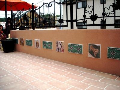 宮城県富谷町/愛犬の写真をタイルに/エクステリア&ガーデンのジーランド