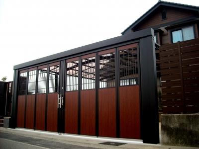 宮城県多賀城市/ワンランク上のゲート/エクステリア&ガーデンのジーランド