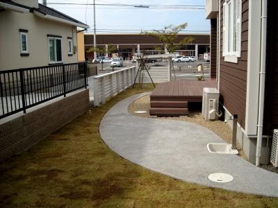 宮城県多賀城市/お庭の水廻り/エクステリア&ガーデンのジーランド