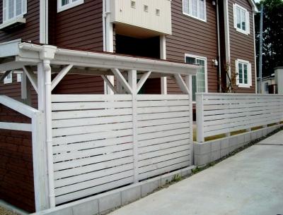 宮城県多賀城市/木製フェンス/エクステリア&ガーデンのジーランド