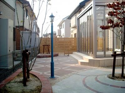 宮城県名取市/絵になるお庭空間/エクステリア&ガーデンのジーランド