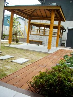 宮城県仙台市/テラスからの眺め/エクステリア&ガーデンのジーランド