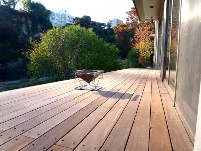 宮城県仙台市/眺めを楽しむデッキ/エクステリア&ガーデンのジーランド