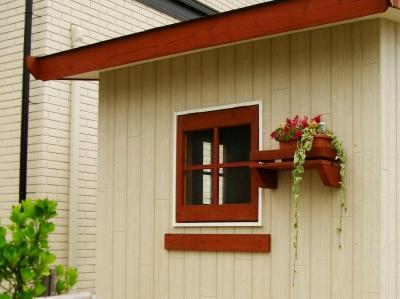 宮城県名取市/物置の窓/エクステリア&ガーデンのジーランド