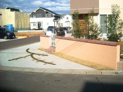 宮城県大和町/道路からの眺め/エクステリア&ガーデンのジーランド