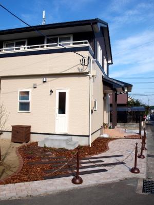 宮城県仙台市/道路から見る外構/エクステリア&ガーデンのジーランド