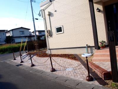 宮城県仙台市/曲線ラインの植栽スペース/エクステリア&ガーデンのジーランド