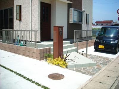 宮城県仙台市/スマートな駐車場/エクステリア&ガーデンのジーランド