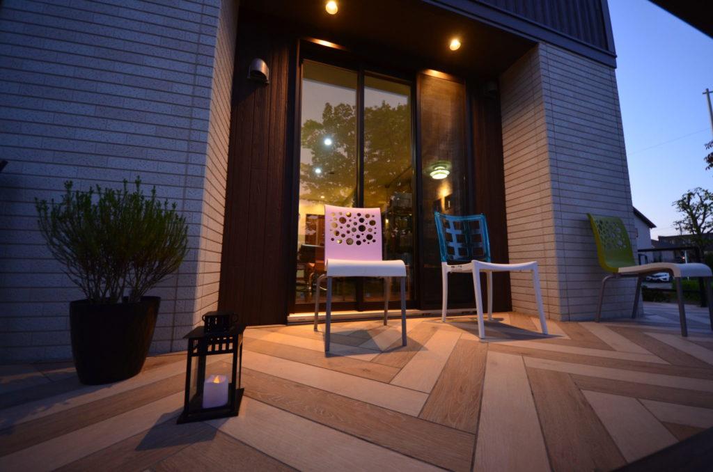 おしゃれなヘアサロン グランティ 外構/テラス 設計施工:宮城県仙台市ジーランド